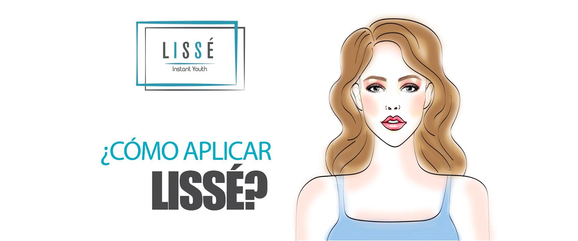 Información para saber cómo y dónde aplicar el gel reductor LISSÉ.