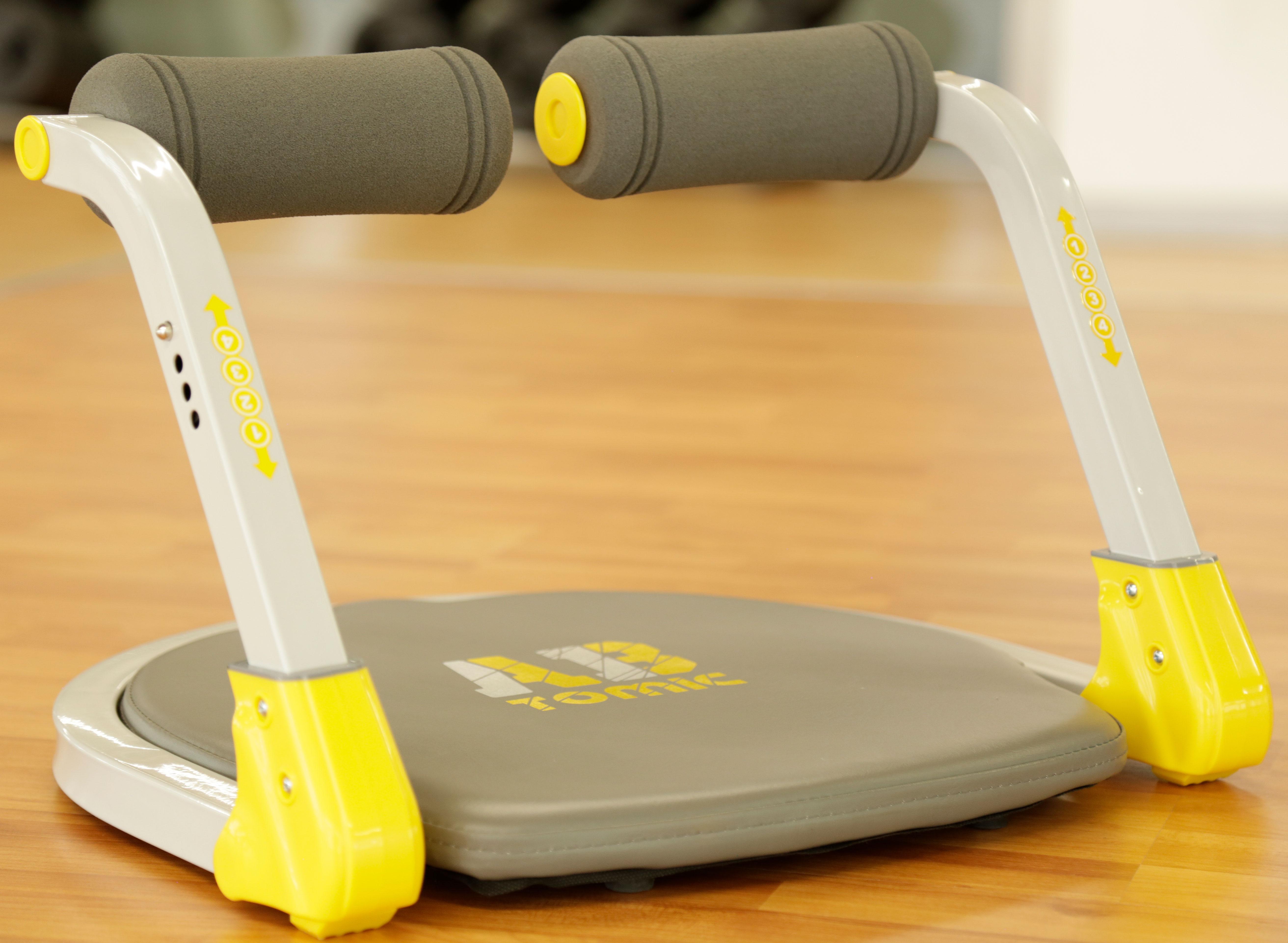 Aparato de ejercicio Ab Tomic que soporta 120 kg de peso.